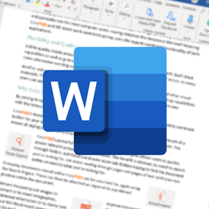 Microsoft Word Editing