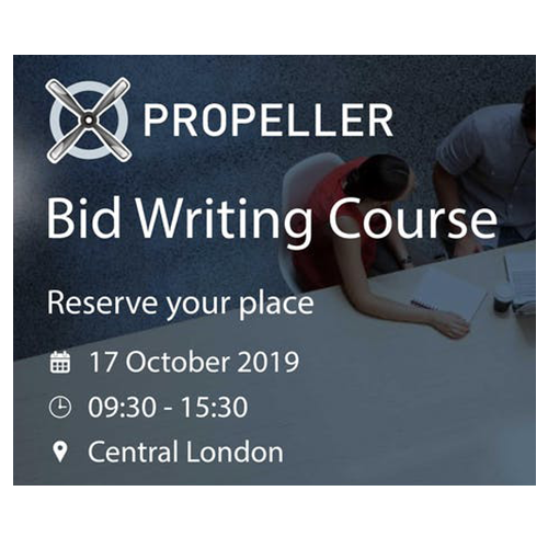 Bid Writing Course – Book your place now!