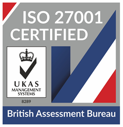 ISO27001 Certification No. 185161